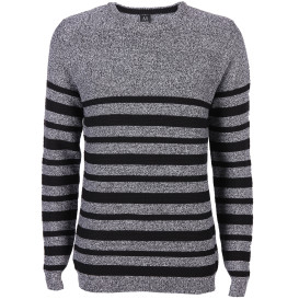 Herren Strickpullover in melierter Optik