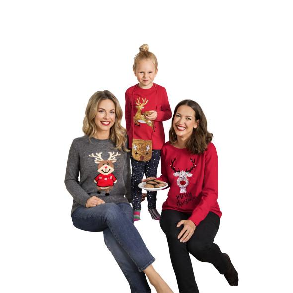 Damen Weihnachtssweatshirt