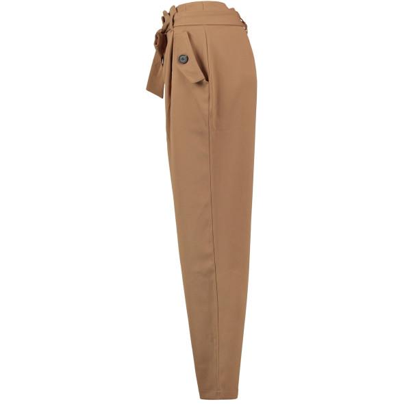 Hailys LUCIA Paperbag Highwaist Hose mit Bindegürtel