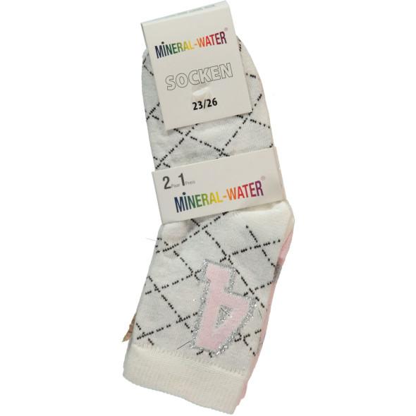Mädchen Socken im 2er Pack
