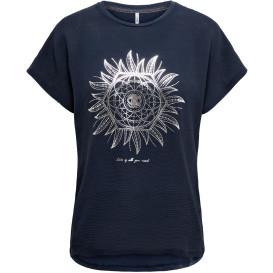 Only  ONLCARIN LIFE REG S/S Shirt mit Pailletten