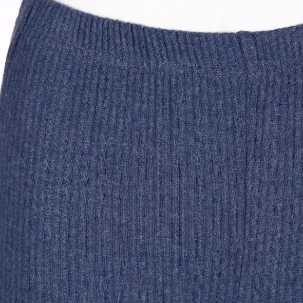 Damen Leggings in Rippoptik