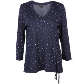 Damen Shirt mit Alloverprint und 3/4 ARm