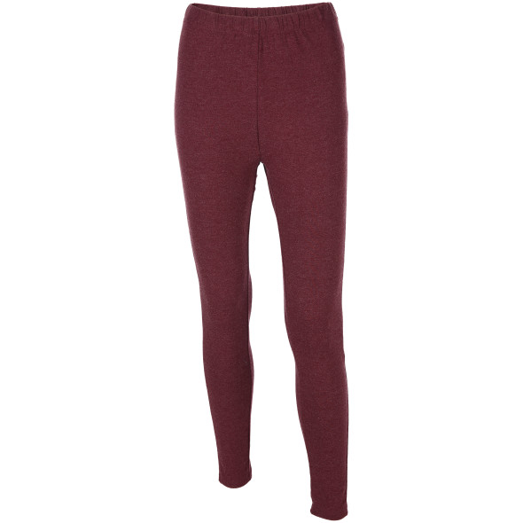 Damen Leggings in melierter Optik