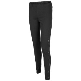 Damen Leggings mit Glitzernieten