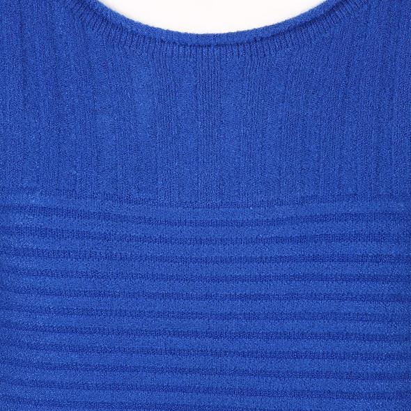 Damen Pullover in Rippstruktur