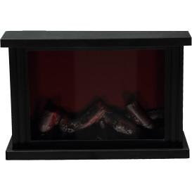 LED Kamin mit Flammenoptik 30x20x11cm