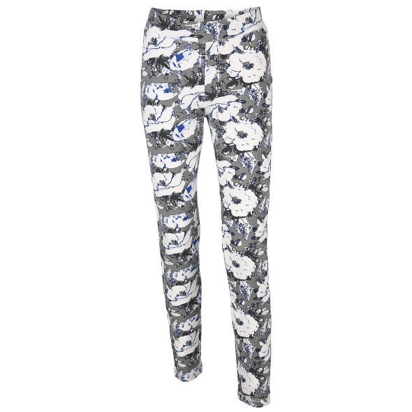 Damen Leggings mit Blumendruck