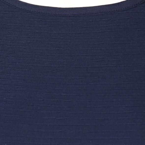 Damen Shirt mit Struktur, 3/4 Arm