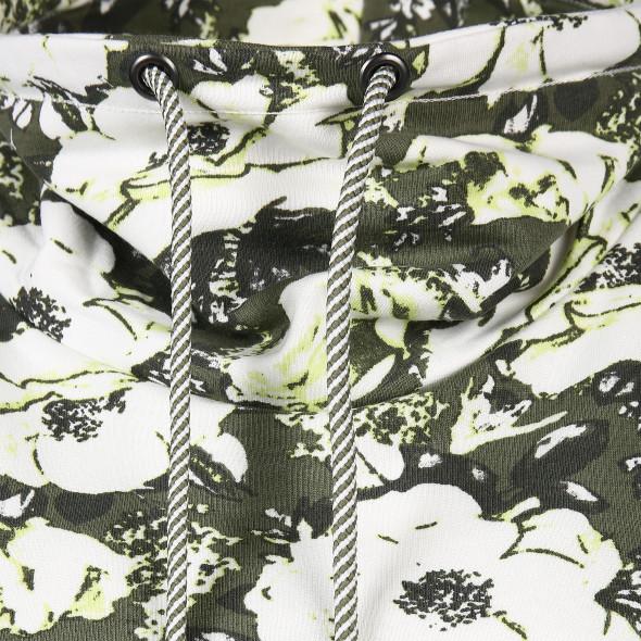 Damen Sweatshirt mit Blumenprint