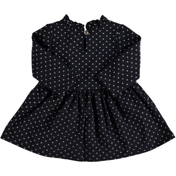 Baby Kleidchen mit Punkte-Alloverprint