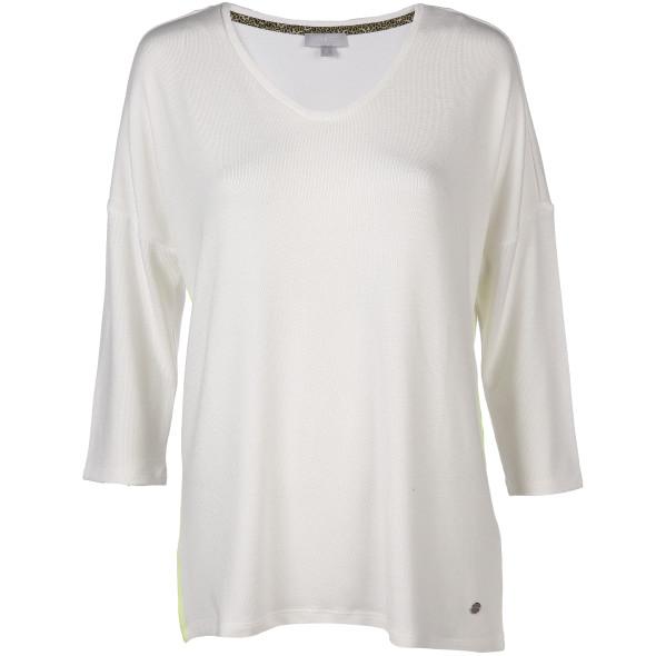 Damen Shirt mit Kontrastnähten