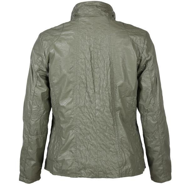 Große Größen Jacke in Kunstleder