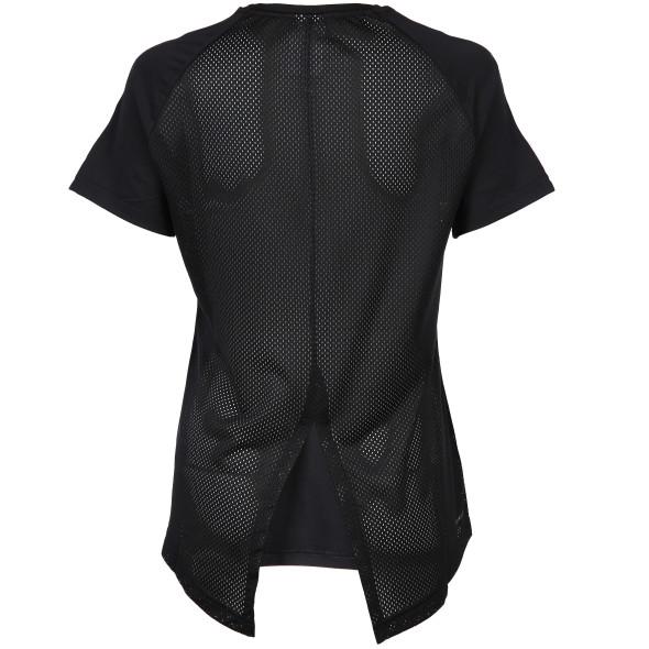 Damen Sportshirt mit Mesh Rücken