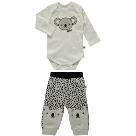 Baby Set mit Koala Motiv, 2tlg.
