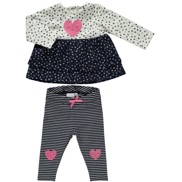 Baby Mädchen 2er Set bestehend aus Longsleeve und Hose