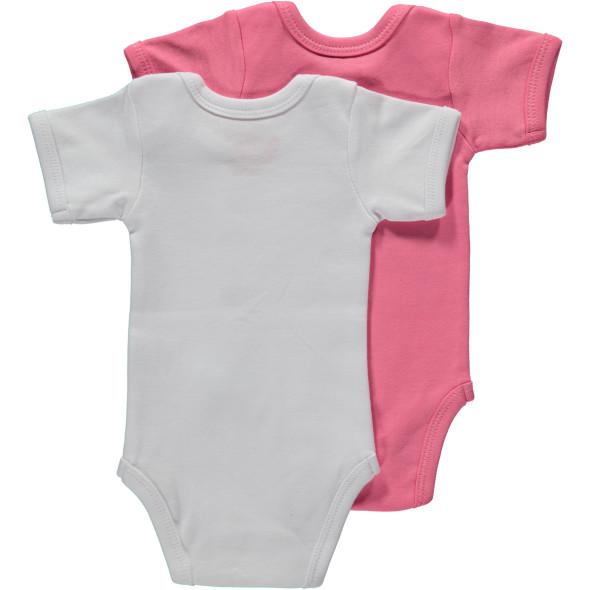 Baby Body mit Sprüchen im 2er Pack