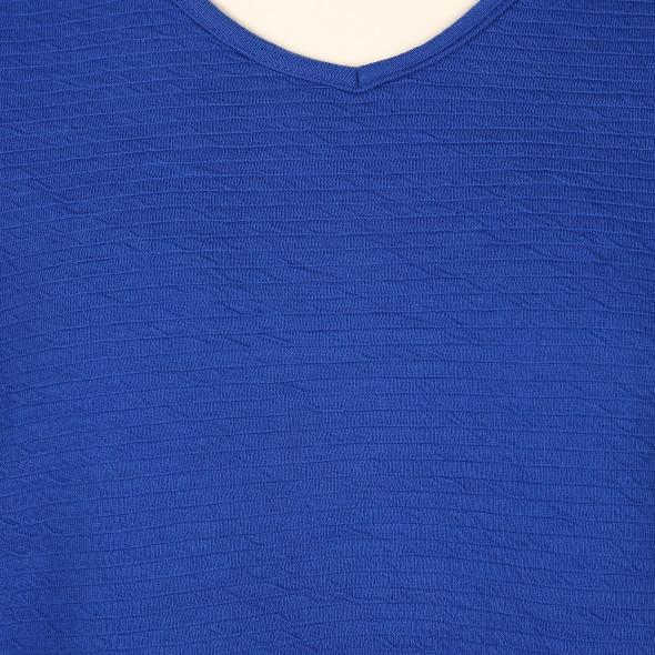 Große Größen Shirt mit Struktur