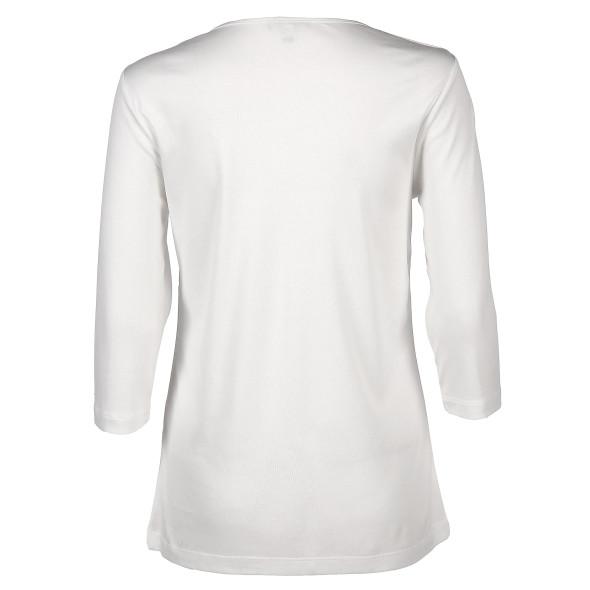 Damen Basic Shirt mit 3/4 Ärmeln