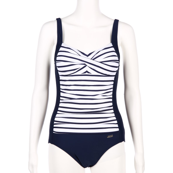 Damen Badeanzug mit Streifen