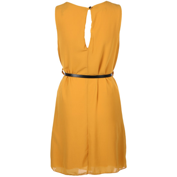 Hailys SH P DR TANJA Chiffon Kleid mit Gürtel