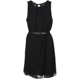 Hailys Chiffon Kleid mit Gürtel