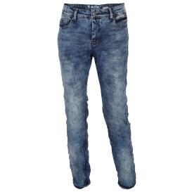 Herren Jeans in Knitteroptik
