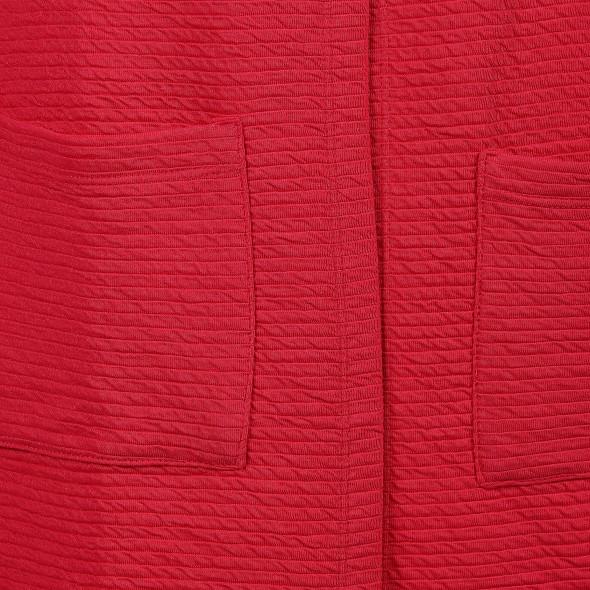 Damen Cardigan in Ottoman Rippe mit Taschen