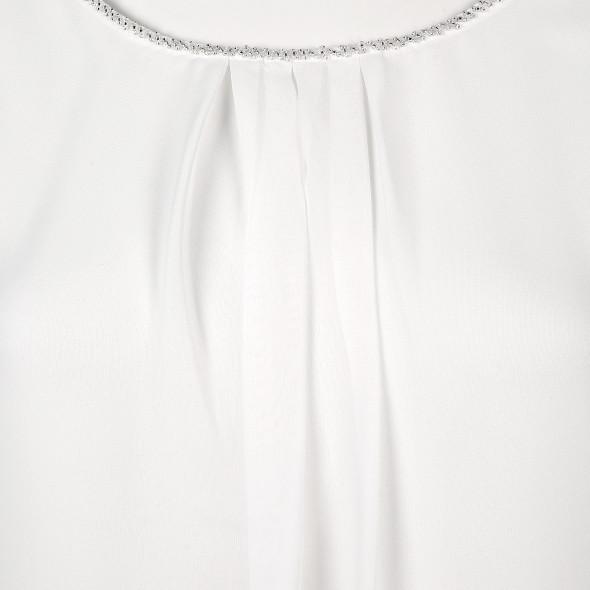 Damen Shirt mit Perlenstickerei