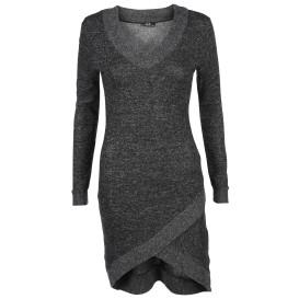 Damen Kleid mit schrägem Saum