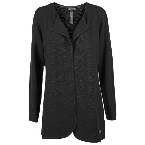 Damen Cardigan in Struktur Optik