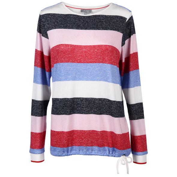 Damen Shirt im Color Blocking Style