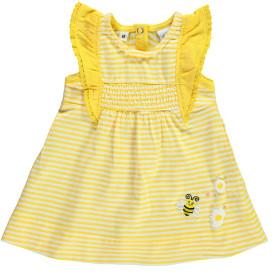 Baby Mädchen Kleid im Streifenlook