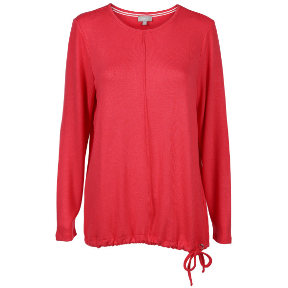 Damen Langarmshirt in Feinstrick