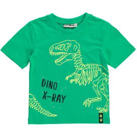 Jungen T-Shirt mit leuchtendem Dinodruck