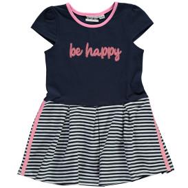 Mädchen Kleid mit Pailletten-Schriftzug