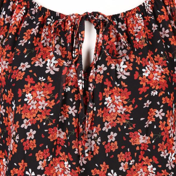Hailys CARA Schlupfbluse in floralem Style