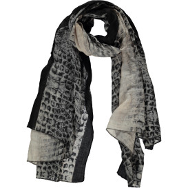 Damen Schal mit Animalmuster