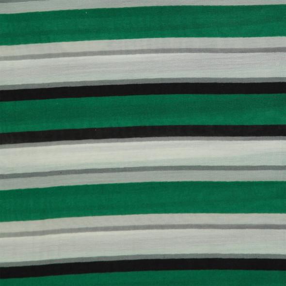 Damen Loopschal mit Streifen