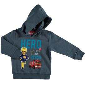 Jungen Sweatshirt mit Kapuze und Frontprint