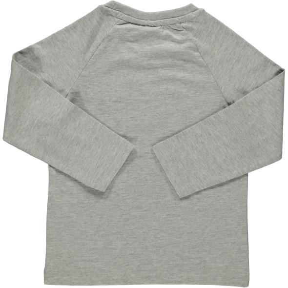 Jungen Langarmshirt mit Print und Pailletten