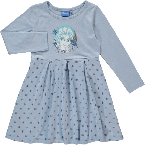 Mädchen Kleid mit Glitzerprint