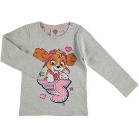 Mädchen Langarmshirt mit Frontprint