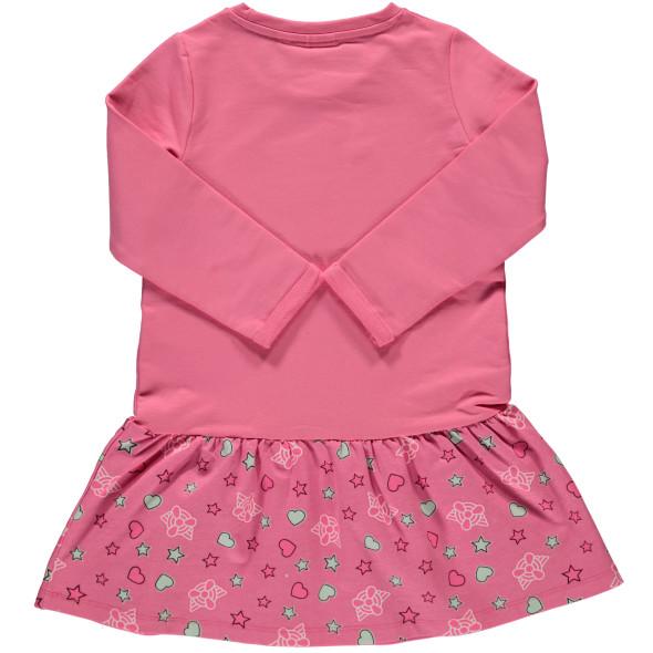 Mädchen Kleid mit Frontprint