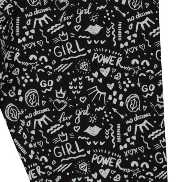 Mädchen Leggings mit Minimalprint