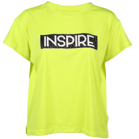 Damen Sport Shirt in Neonfarbe