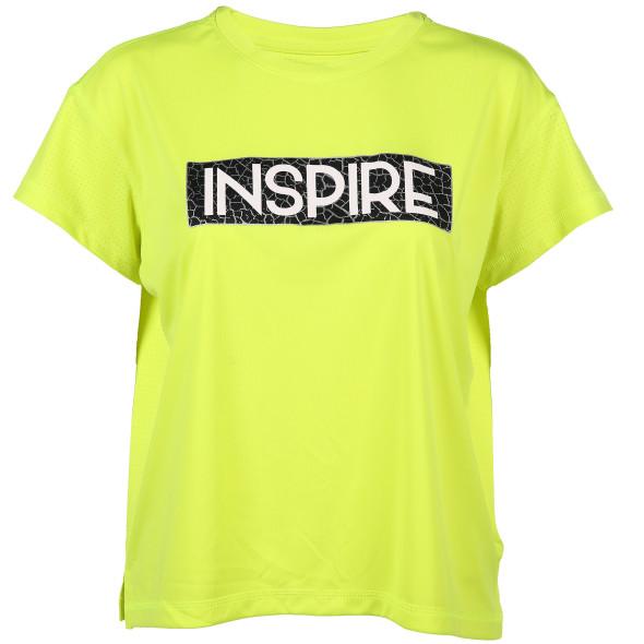 Damen Sport Shirt in Neonfarbe