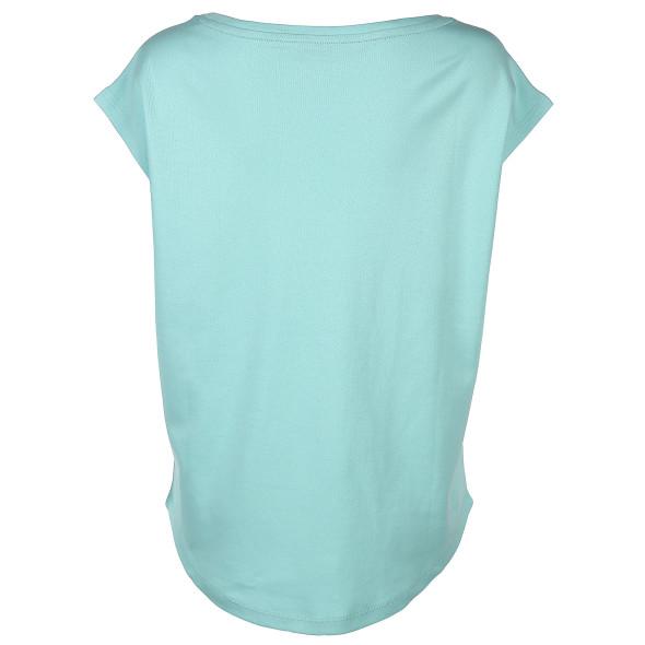 Damen Sport Shirt mit Glitzerprint