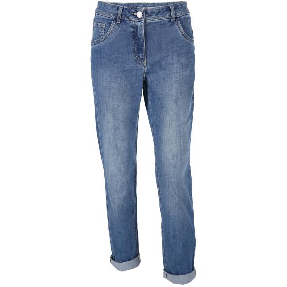 Damen Jeans in mittlerer Waschung