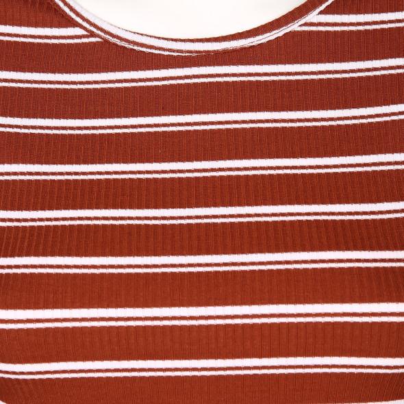 Hailys TILDA Langarmshirt in Ripp-Optik